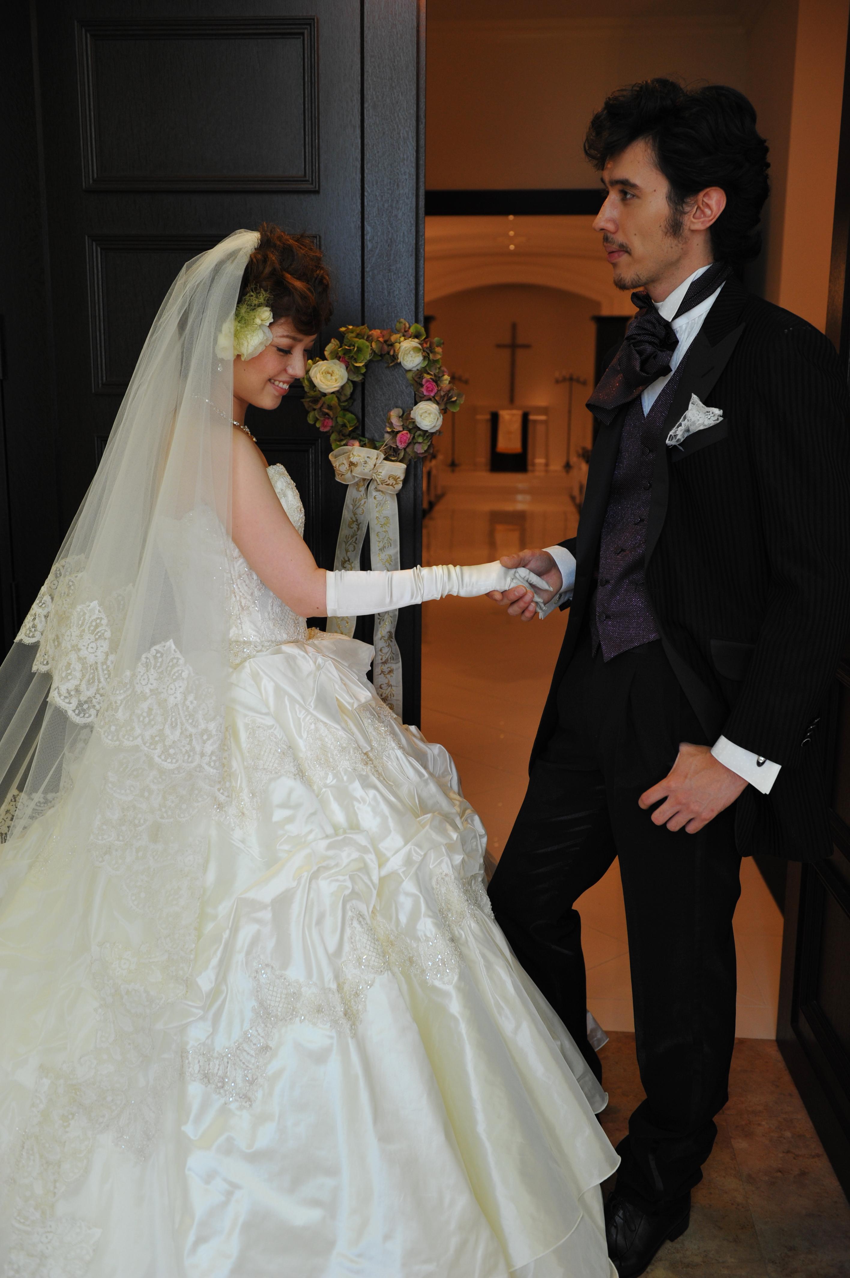 インポートドレス, タキシード, 白ドレス. wedding