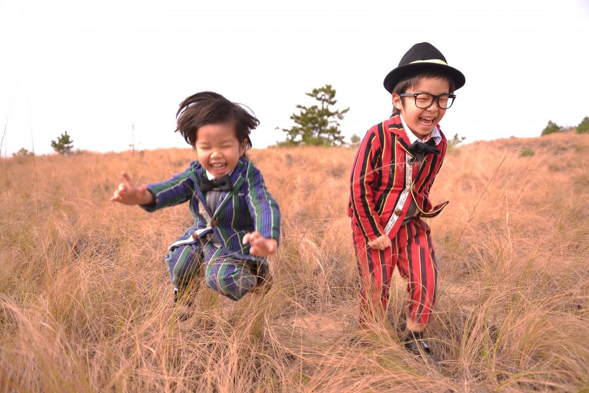 子どもロケーション撮影1